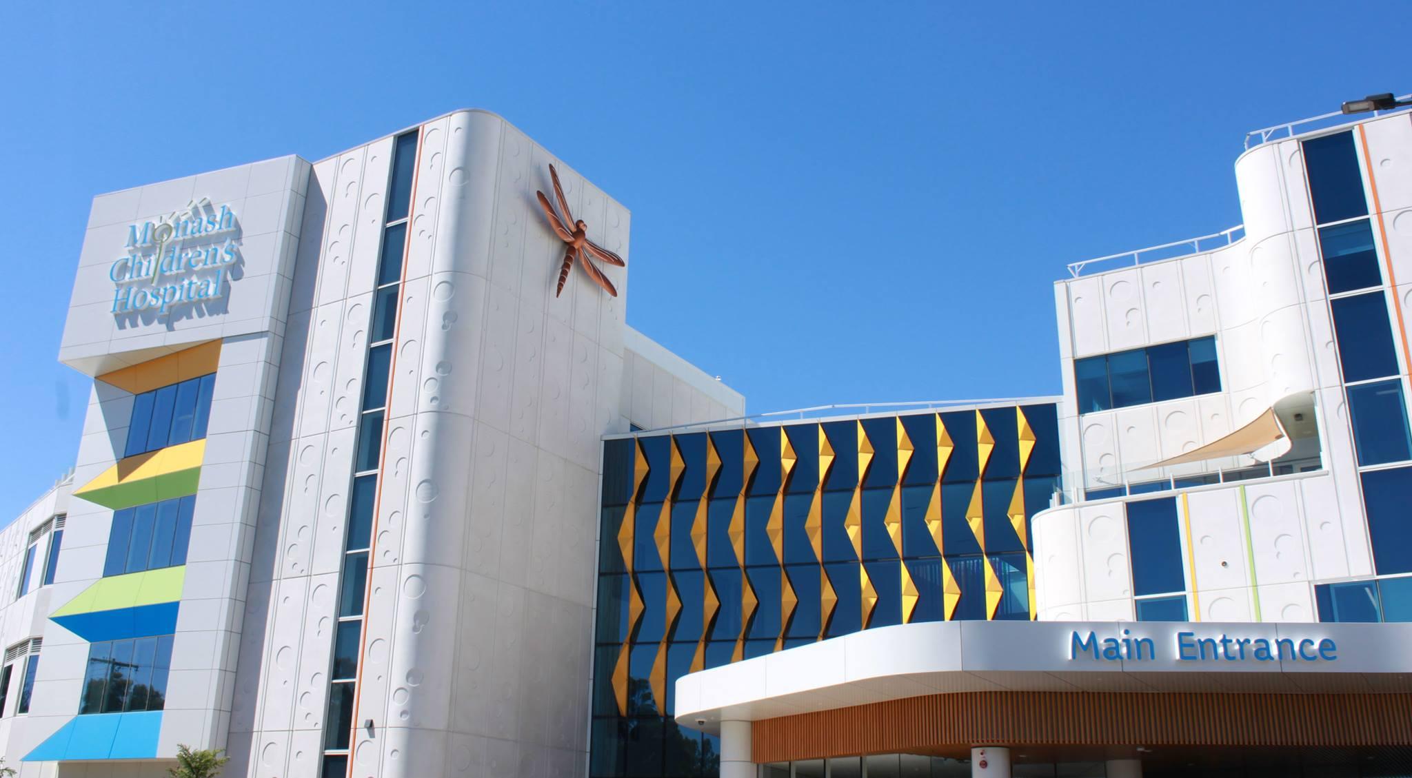 monash-childrens-hospital-facade
